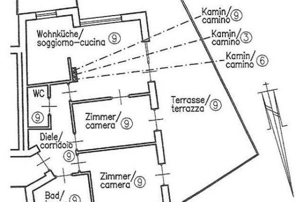 3-Zimmer-Panoramawohnung in Auer ab Juni zu vermieten