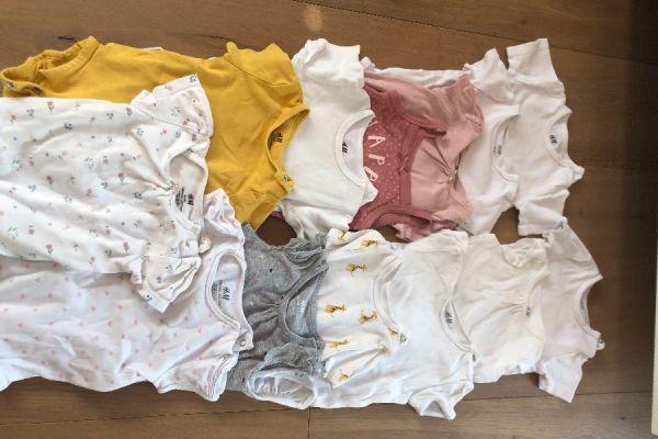 Verkaufe Baby-Kleidung Größe 74 für Mädchen