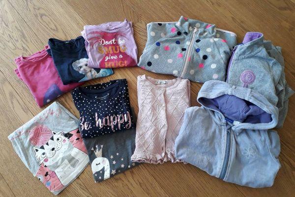 Kinderkleidung Mädchen, Gr. 110 - 116 - Mädchenpaket