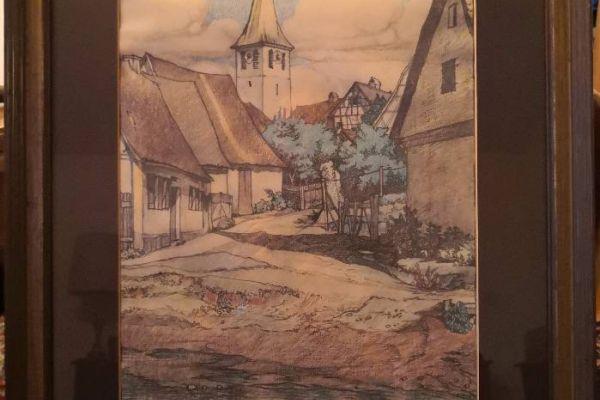 Orginal Gemälde - Heinrich Göttler