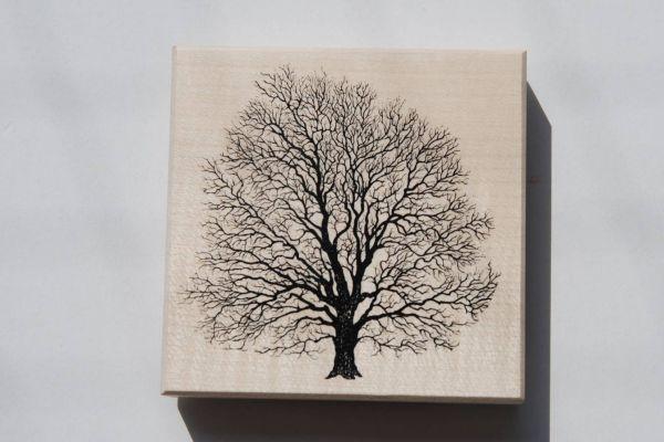 Baum Holzstempel