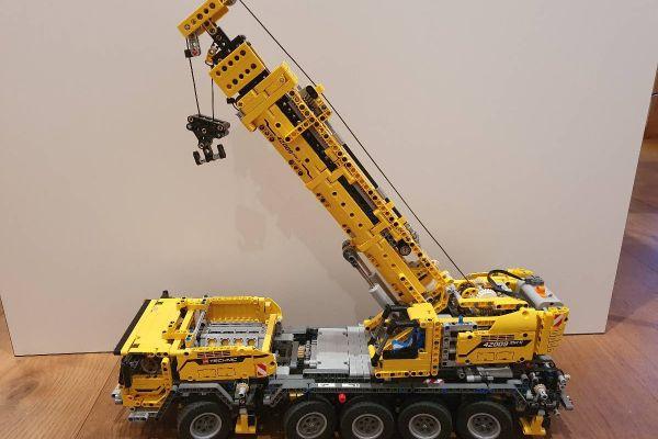 Lego Technic, mobiler Schwerlastkran, Model 42009
