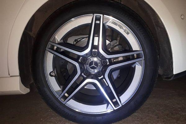 Orginale AMG Felgen mit Reifen