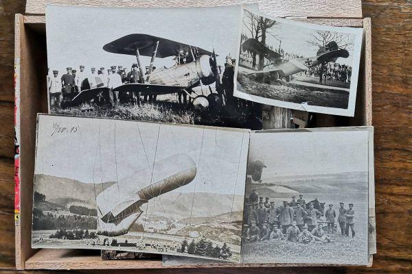 Lose Photographien und Postkarten aus dem 1. WK