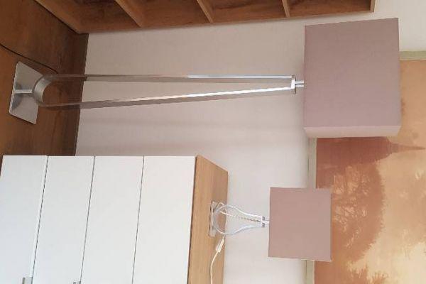 Ikea Stehleuchte und Tischleuchte