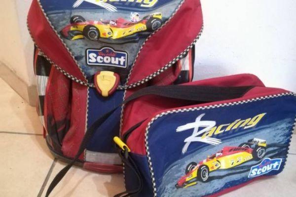 Schultasche und Turntasche