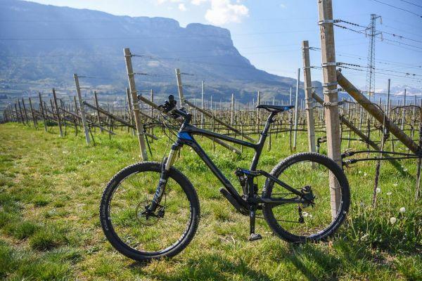 Mountainbike Fully KTM Lycan Master 27,5 schwarz blau