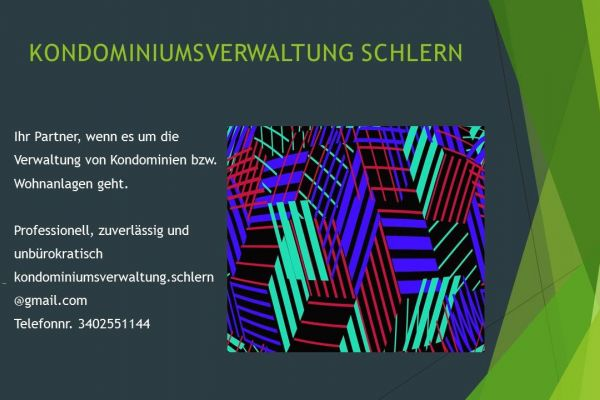 Verwaltung Kondominium