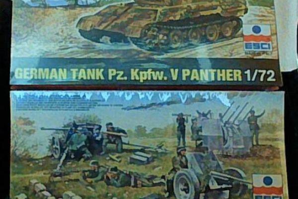 Esci Panzer, Esci Geschütze