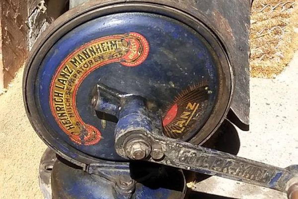 Antike Milchzentrifuge
