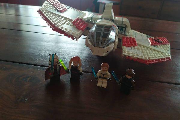 LEGO Star Wars T-6 Jedi Shuttle - 7931 - VOLLSTÄNDIG