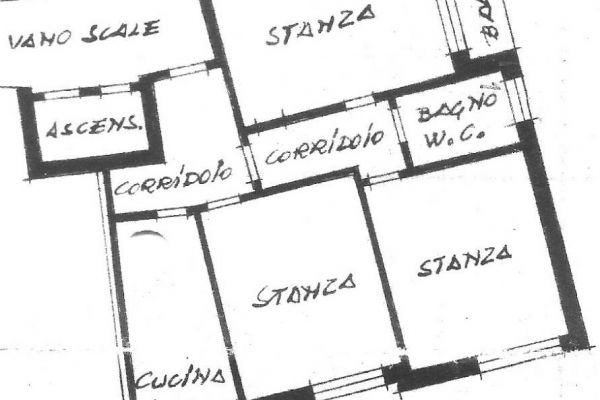 Große 3-Zi.-Wohnung in ruhiger, zentraler Lage in Bozen zu vermieten