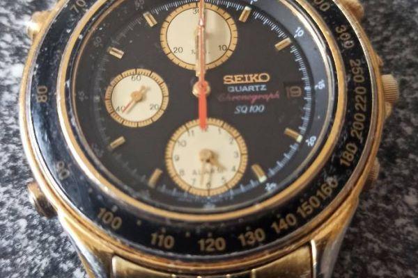 Seiko Chronograph.
