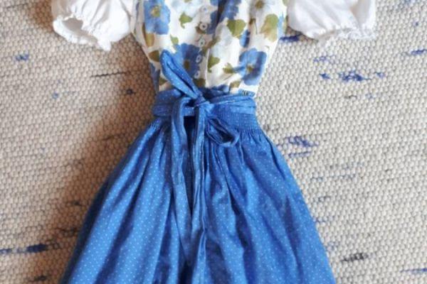 Dirndl mit Bluse Gr 116 wie neu, kaum getragen