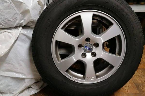 Autofelgen XC60 inkl. Reifen
