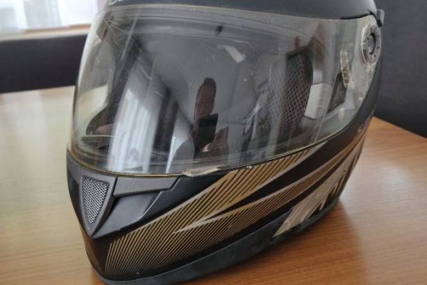 Scooter-helm