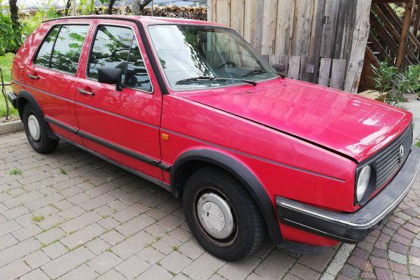 VW Golf 2 GL Rot