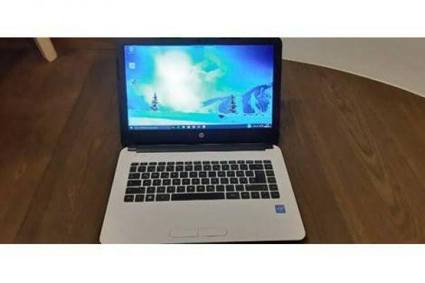 HP-Laptop 14 Zoll in Weiß