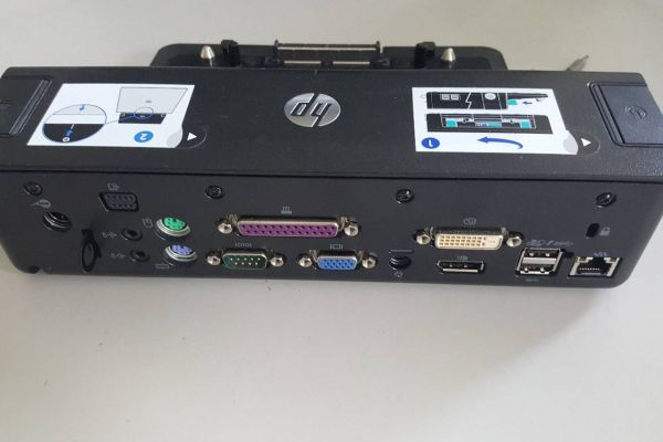 Verkaufe HP 90W Docking Station