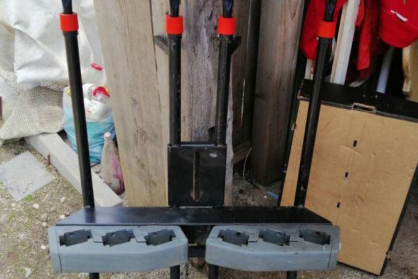 Skiträger für Anhängekupplung