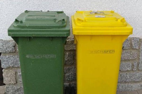 2 Mülltonnen guter zustand