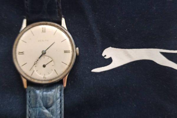 Schweizer Uhr Anfang 60 er Jahre.