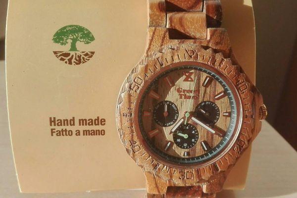 Holzarmbanduhr für Männer