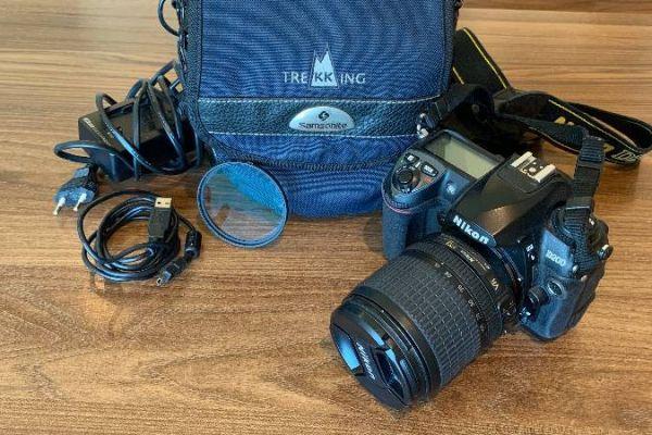 Verkaufe neuwertige Nikon D200 Profi Kamera - 250€
