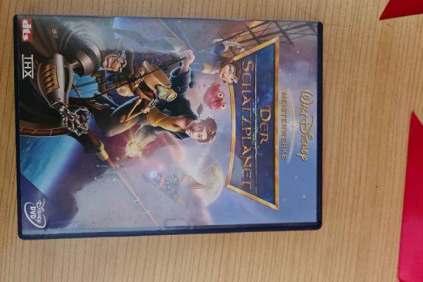 DVD Video Der Schatzplanet