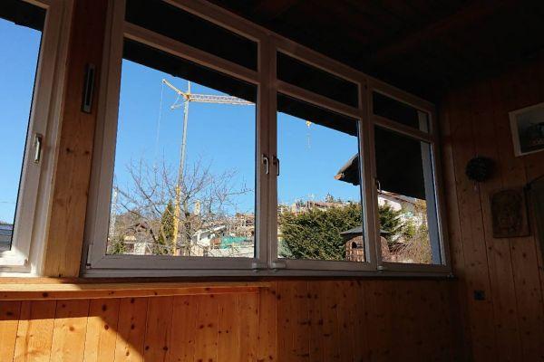 Fensterfront zu verschenken