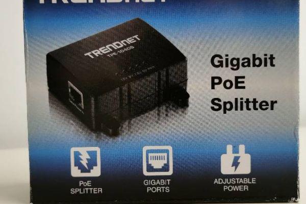Gigabit PoE Splitter - TRENDNET TPE-104GS