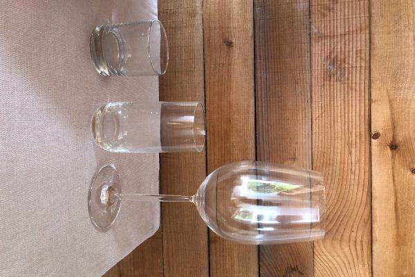Wein- Wassergläser