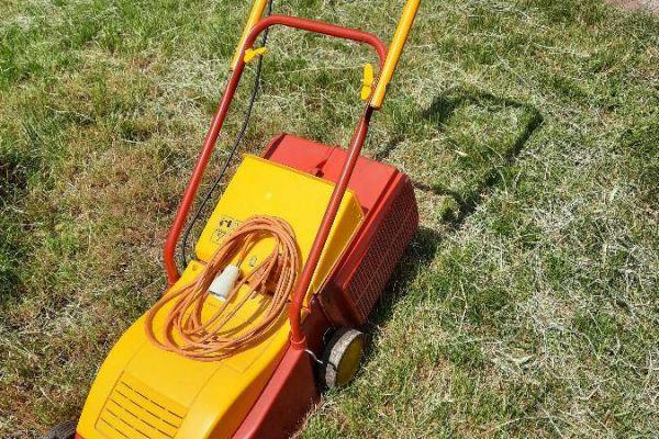 Rasenmäher elektrisch, Tosaerba elettrico