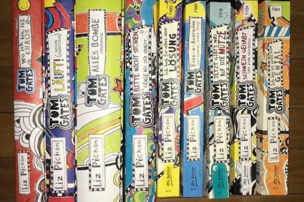 Neun Jugendbücher TOM GATES von Liz Pichon