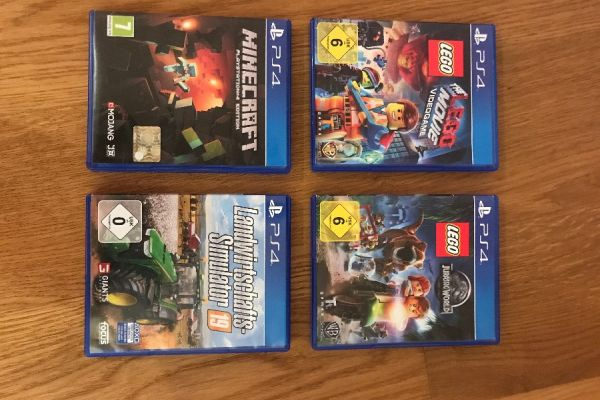 Verkaufe meine PlayStation 4