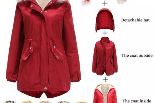 Jacke für Sommer und Winter