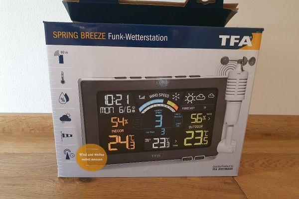 Verkaufe neue Funk-Wetterstation