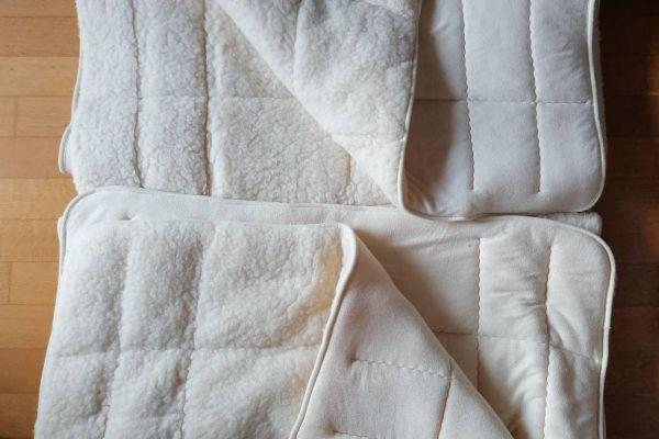 Bettauflagen Lammflor/Schafschurwolle