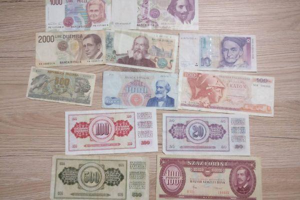 Geldscheinsammlung