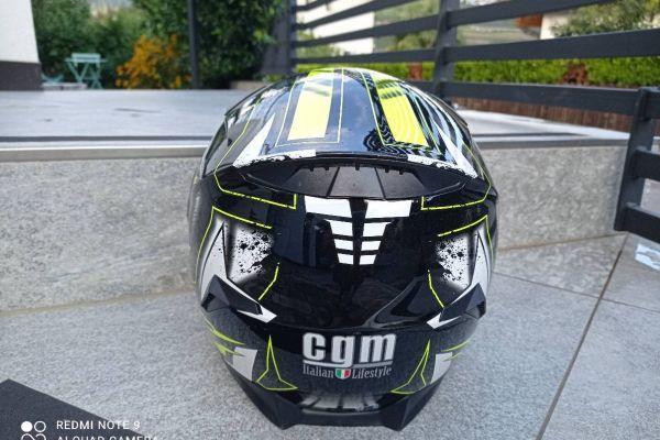 Motorradhelm Größe S