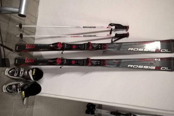 Damen Ski Set Rossingnol