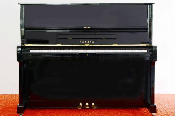 YAMAHA Klavier U 1, schwarz poliert- kostenlose Lieferung! (*)