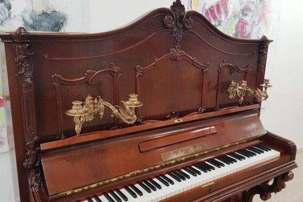 Gustav Rösler-Klavier - Einzelstück - von 1895-