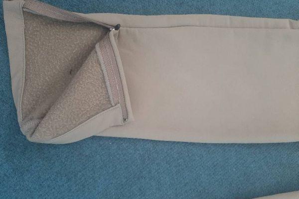 CMP Damenhose in beige Gr. Ital. 42 für die nass-kalten Tage zu verkau