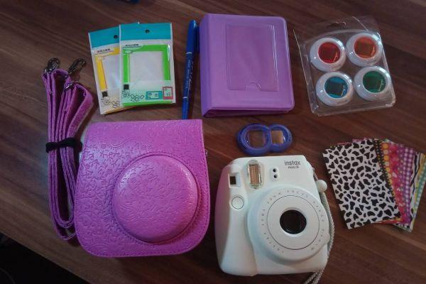 Instax mini 8 Polaroid-Kamera