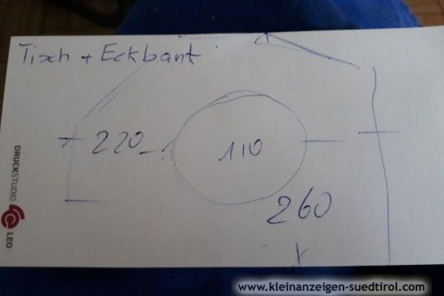 Verkaufe hochwertigen Schrank/Eckbank/Tisch/Stühle - Bild 4