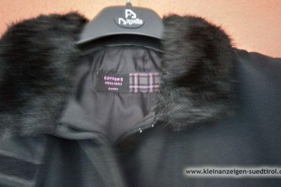 schwarze Jacke, Gr. 42,   25 Euro - Bild 2