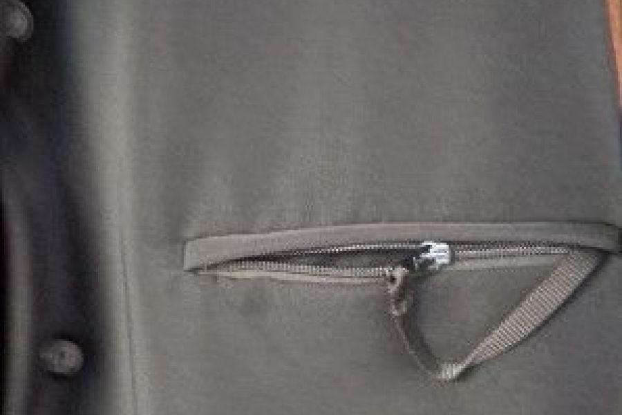 schwarze Jacke, Gr. 42,   25 Euro - Bild 4