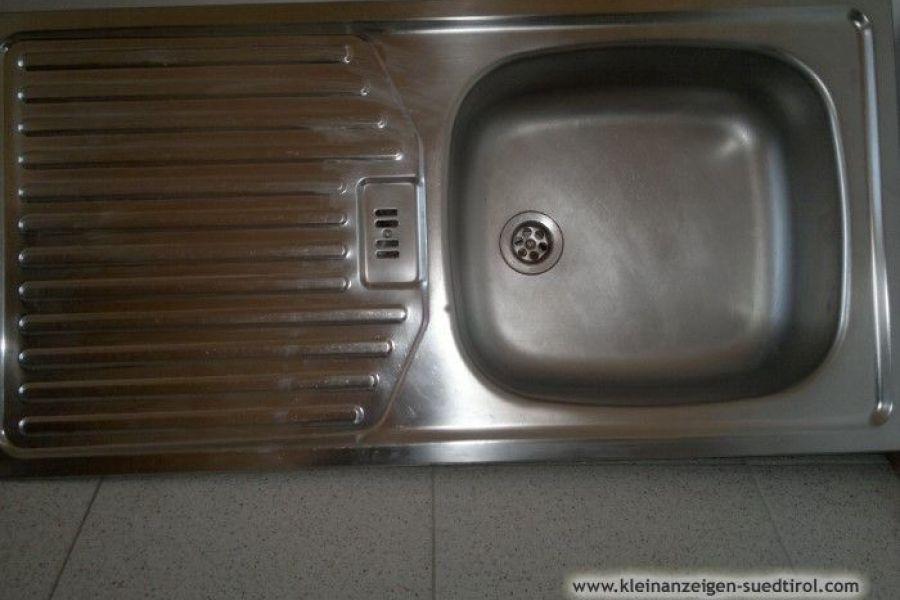 INOX Küchenspülbecken, 86 x 43 cm, mit Zubehör - Bild 1