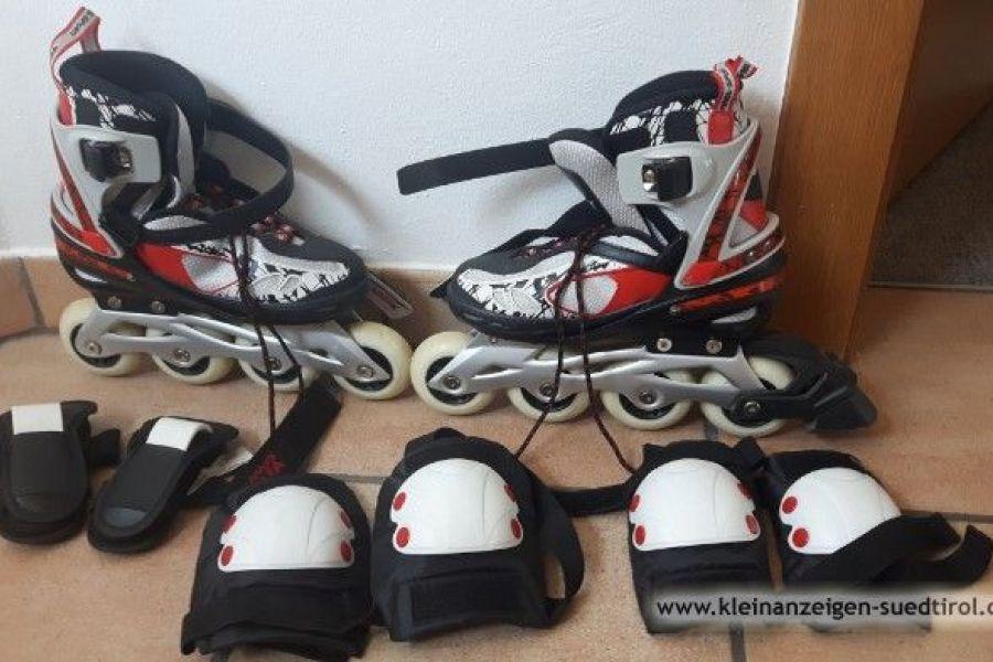 Rollschuhe+Knie, Ellbogen & Handgelenkschützer - Bild 1